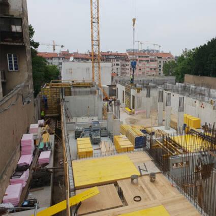 Izgradnja zgrade Ambasade Nemačke