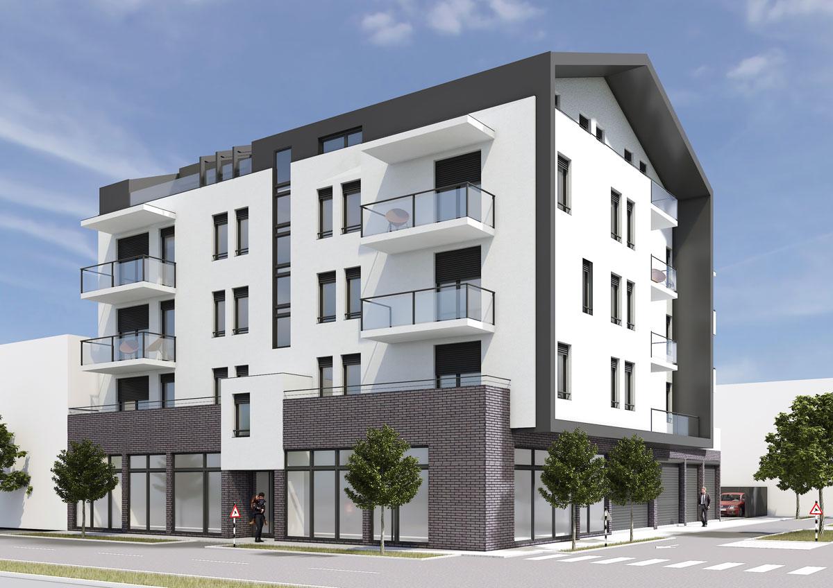započeta je i izgradnja objekta sa projektom za aktivni betonski plafonski sistem grejanja i hlađenja za prvu stambenu zgradu u Srbiji