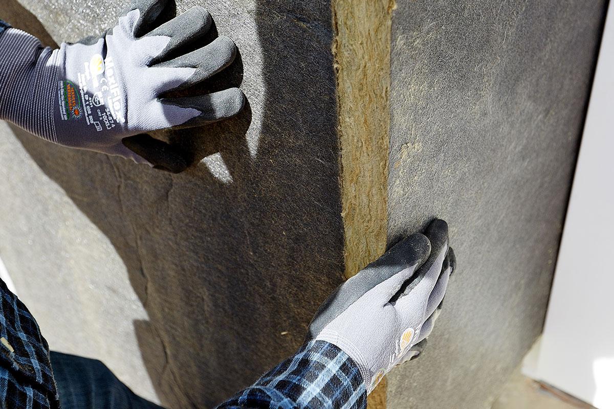 ROCKWOOL Ventirock Duo su krute nekaširane ploče od kamene vune