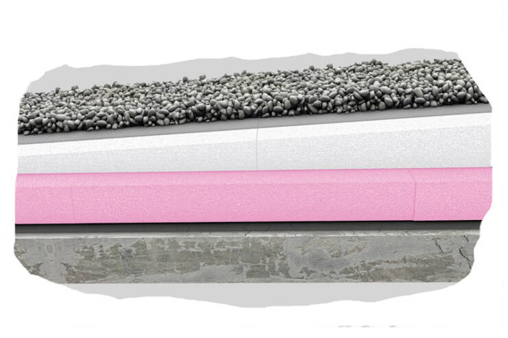 Ravan krov - stiropor na XPS (profil)