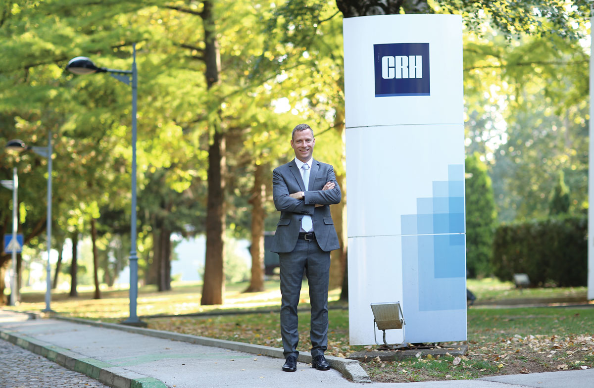 Roman Menz, generalni direktor Moravacem, članice CRH Grupe