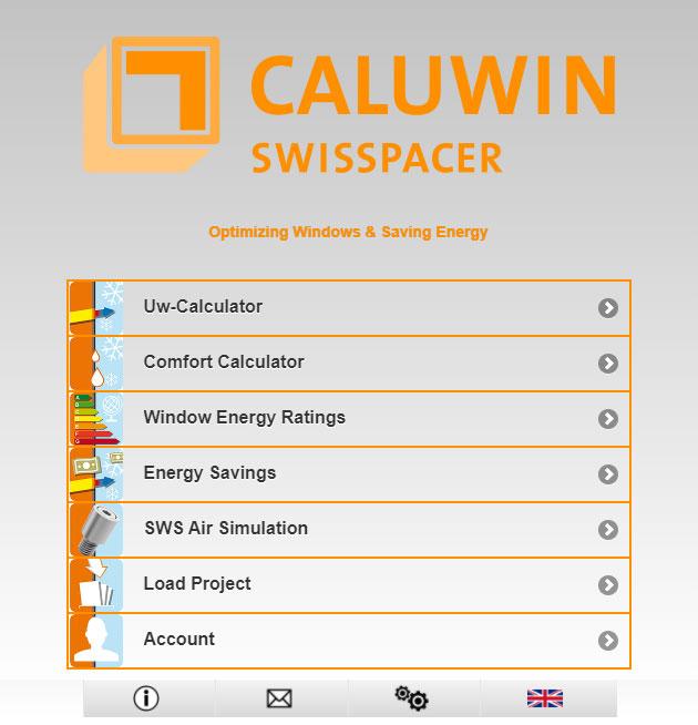 CALUWIN online alat