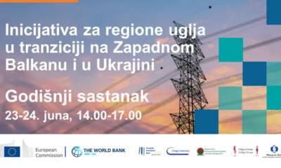 Inicijativa za regione uglja u tranziciji na Zapadnom Balkanu i u Ukrajini poziva sve zainteresovane
