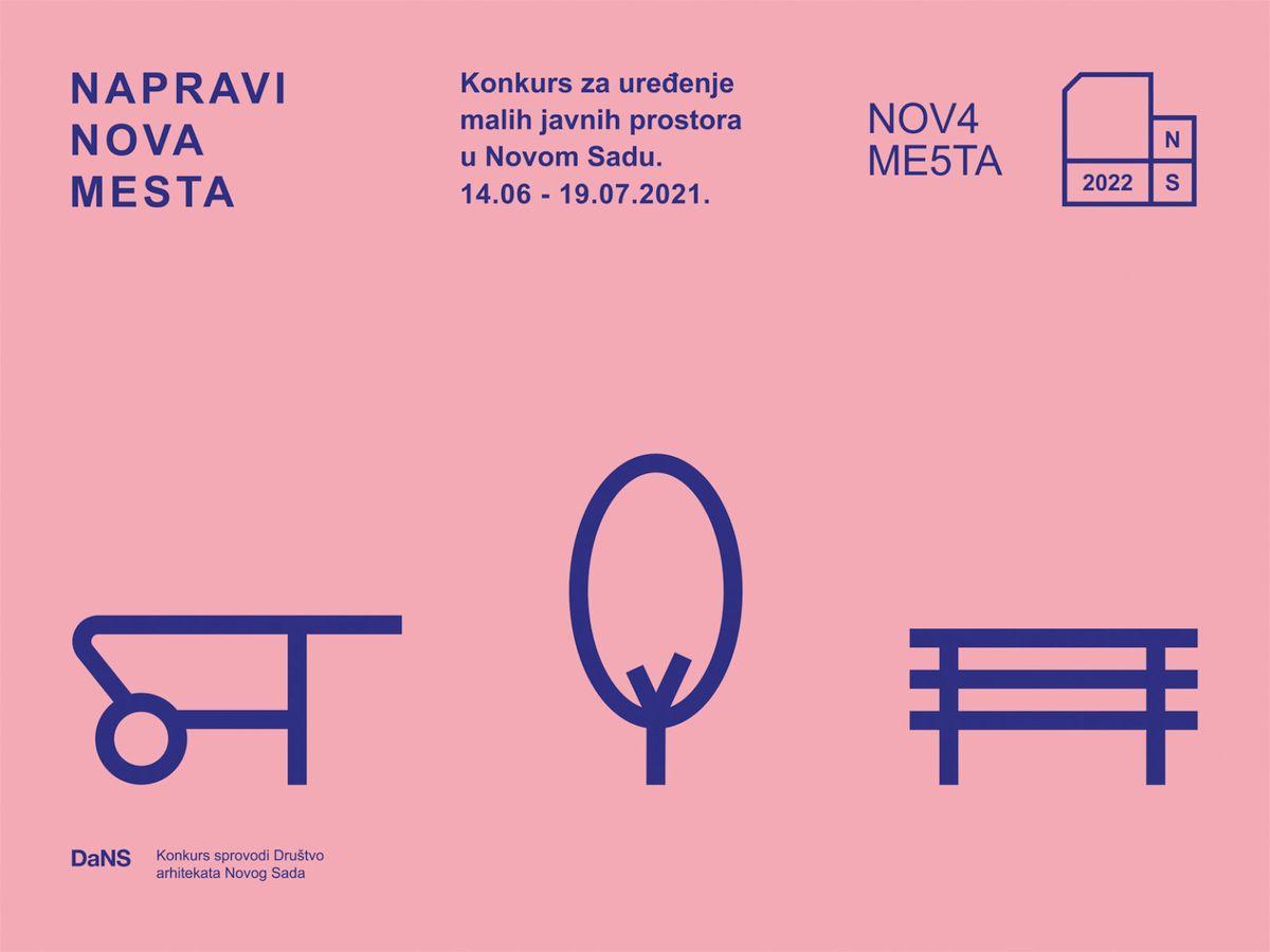 urbanističko-arhitektonski konkurs za uređenje malih javnih prostora u Novom Sadu