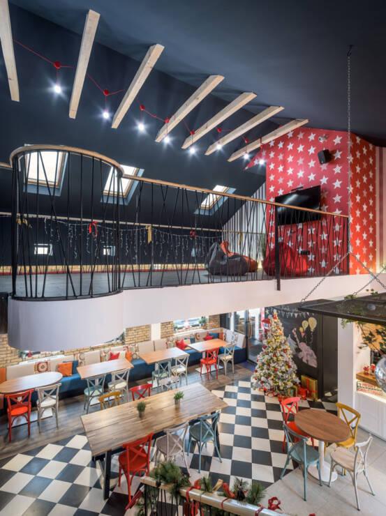 Igraonica ima 140 m2 unutrašnjeg prostora i 180 m2 unutar blokovskog dvorišta