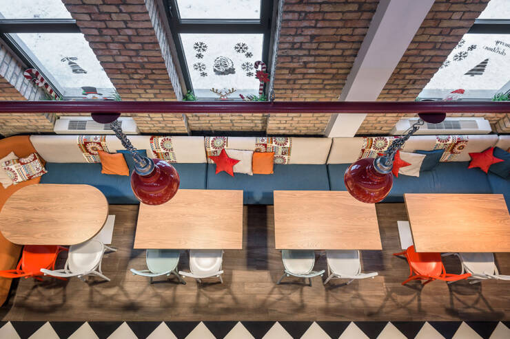 kafe-bar – prostor za održavanje proslava kao i mesto gde roditelji mogu sačekati decu