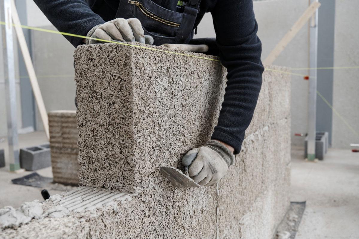 Danas industrijska konoplja postaje zeleni građevinski materijal.