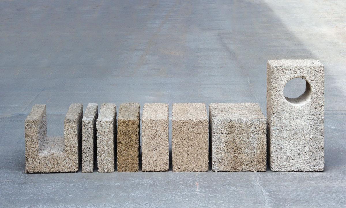 Konoplja zamenjuje agregat koji se meša s cementom da bi se dobio beton