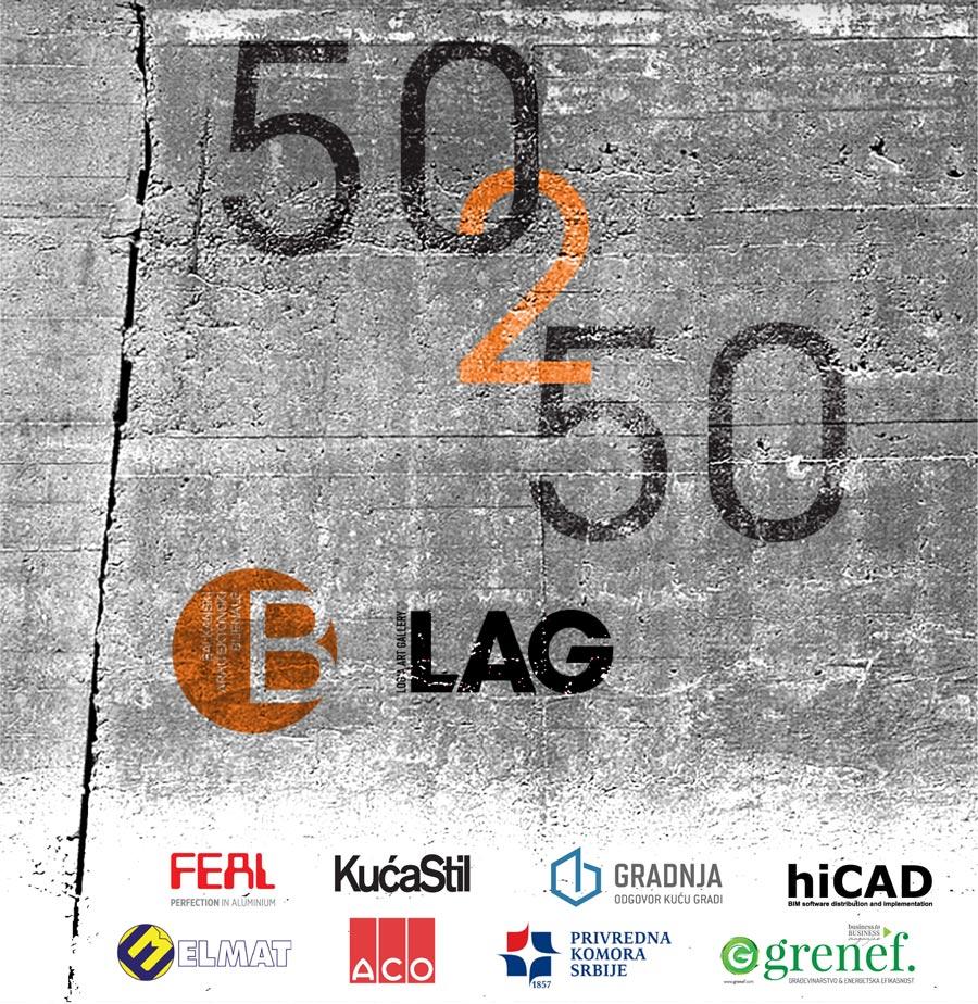 Izložba 50 2 50 (50 to 50) predstavlja izbor 50 najznačajnijih brendova iz oblasti arhitekture i dizajna