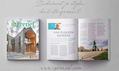Časopis GRENEF - Građevinarstvo & Energetska Efikasnost broj 15, oktobar 2021