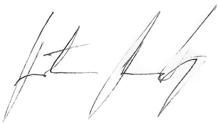 Potpis Predrag Rađen